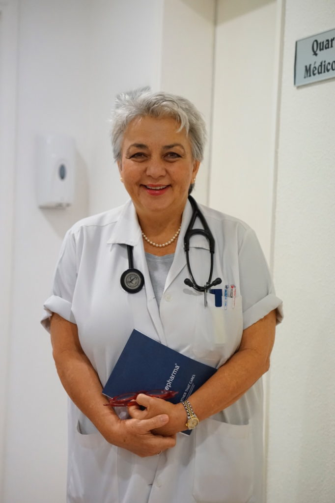 Dr. Beatriz Ferreira, médecin cardiologue du Centre Icor
