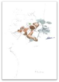 Les soins intensifs. L'enfant est encore « ventilé » : c'est un respirateur qui insuffle à intervalle régulier de l'air dans ses poumons.